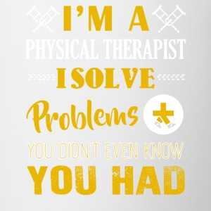 I'm A Physical Therapist Shirt - Contrast Coffee Mug