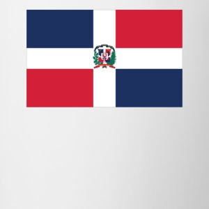 Flag of the Dominican Republic Cool Flag - Contrast Coffee Mug