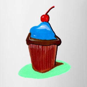 Cupcake, all that cupcake with a cherry on top - Contrast Coffee Mug