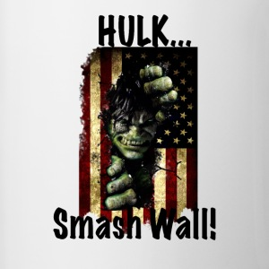 Hulk Smash Wall! - Contrast Coffee Mug