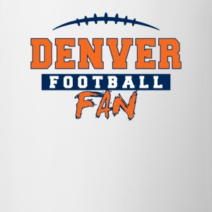 Denver Football Fan - Contrast Coffee Mug