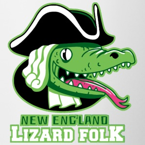 New England Lizardfolk - Contrast Coffee Mug