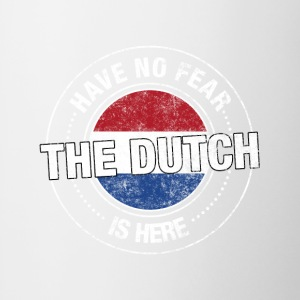 Have No Fear The Dutch Is Here - Contrast Coffee Mug