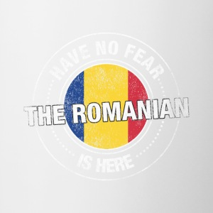 Have No Fear The Romanian Is Here Shirt - Contrast Coffee Mug