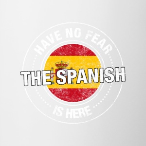 Have No Fear The Spanish Is Here - Contrast Coffee Mug