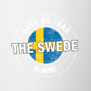 Have No Fear The Swede Is Here - Contrast Coffee Mug