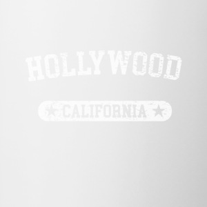 Hollywood California - Contrast Coffee Mug
