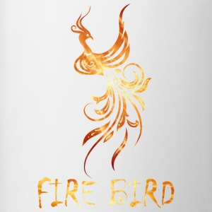 FIre bird on your shirt - Contrast Coffee Mug