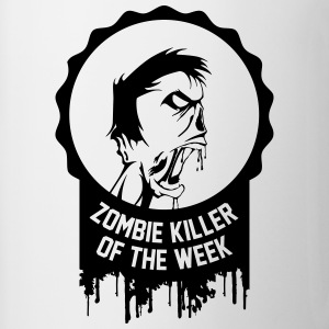 Zombie killer of the week award - Contrast Coffee Mug