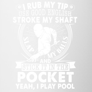 slap my balls and stick it in the pocket - Contrast Coffee Mug
