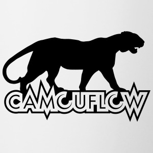 Camouflow Panther Logo - Contrast Coffee Mug