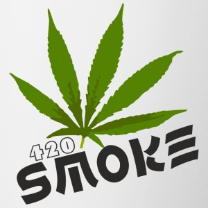 Smoke 420 - Contrast Coffee Mug