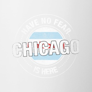 Have No Fear Chicago Is Here - Contrast Coffee Mug