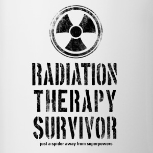 Radiation Therapy Survivor Black - Contrast Coffee Mug