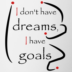 Dreams-goals_red_black - Contrast Coffee Mug