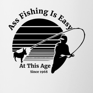 Ass Fishing Since 1967 - Contrast Coffee Mug