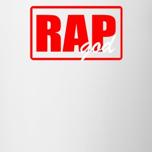 RAP GODRAP GOD - Contrast Coffee Mug