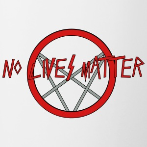 No LIves Matter, Only Metal - Contrast Coffee Mug