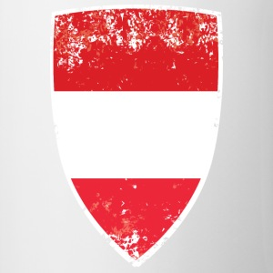Flag of Austria - Contrast Coffee Mug