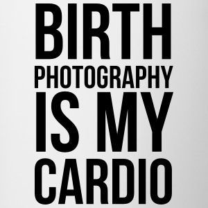 birth photography is my cardio - Contrast Coffee Mug