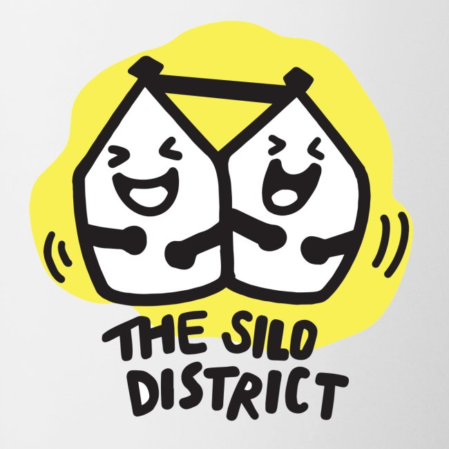 The Silo District Comedy Club Logo