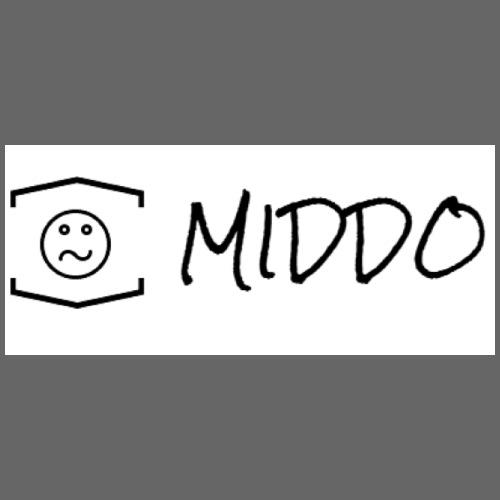 YT MIDDO CLOTHING LOGO - Contrast Coffee Mug