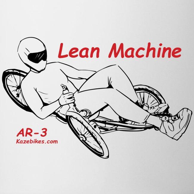 The Lean Machine AR-3 Black & Red