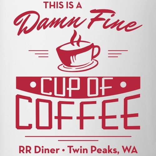 Damn Fine Coffee - Contrast Coffee Mug