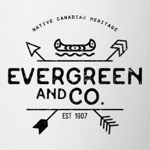 Evergreen and Co. Classic Canoe - Coffee/Tea Mug