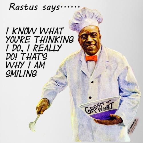 Rastus Says Series I know what you're thinking - Coffee/Tea Mug