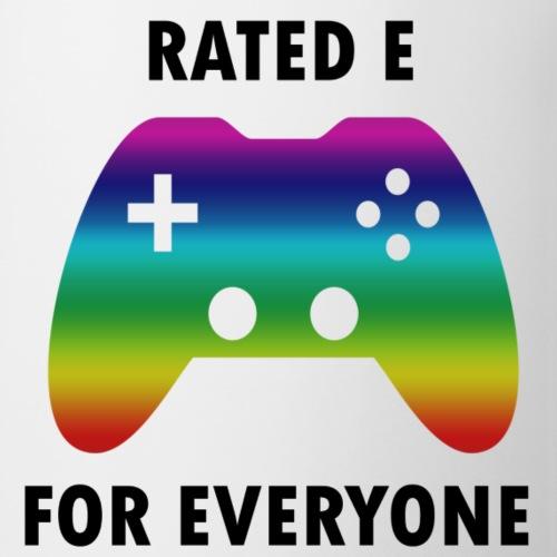 Rated e for everyone - Coffee/Tea Mug