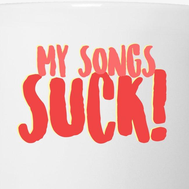 My Songs Suck Logo