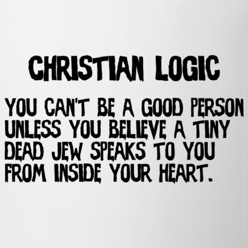 Christian Logic (light) - Coffee/Tea Mug