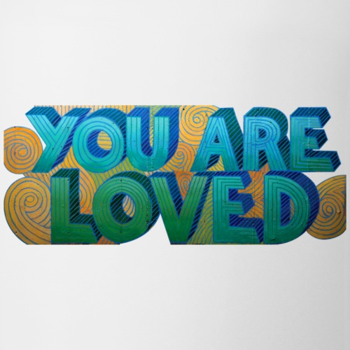 YOU ARE LOVED - swirls - Coffee/Tea Mug