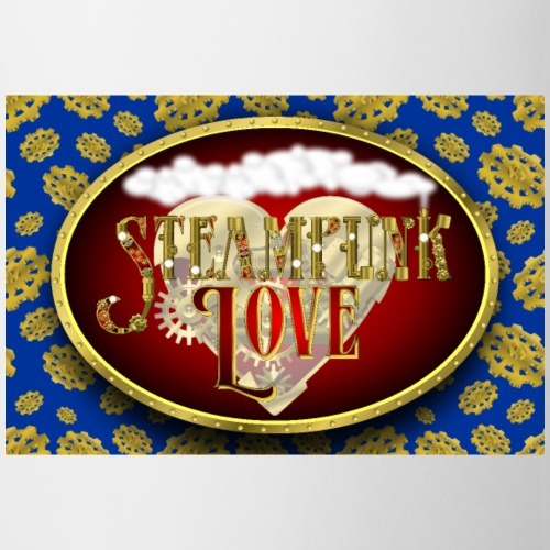 Steampunk Love Poster - Coffee/Tea Mug