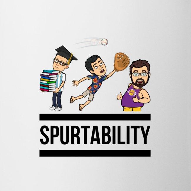 Spurtability Black Text