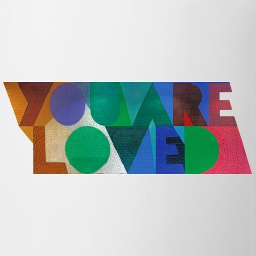 YOU ARE LOVED - Diagonals - Coffee/Tea Mug