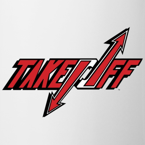 TakeOff Logo Red - Coffee/Tea Mug