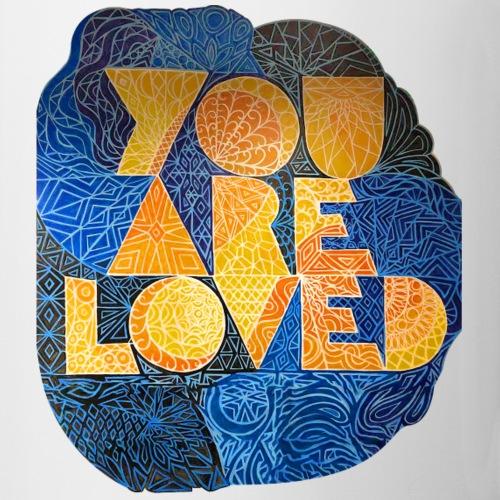 You Are Loved - Blue and Yellow - Coffee/Tea Mug