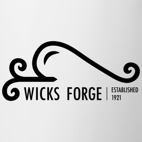 Wicks Forge Iron Logo - Coffee/Tea Mug