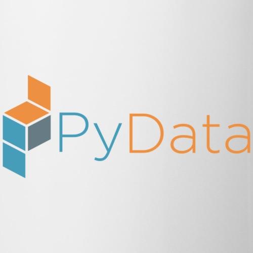 Official PyData Logo and Wordmark - Coffee/Tea Mug