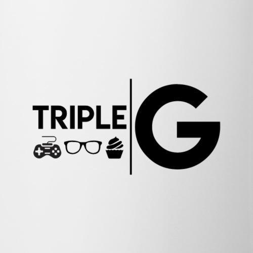 Triple G Full Logo - Black Logo - Coffee/Tea Mug