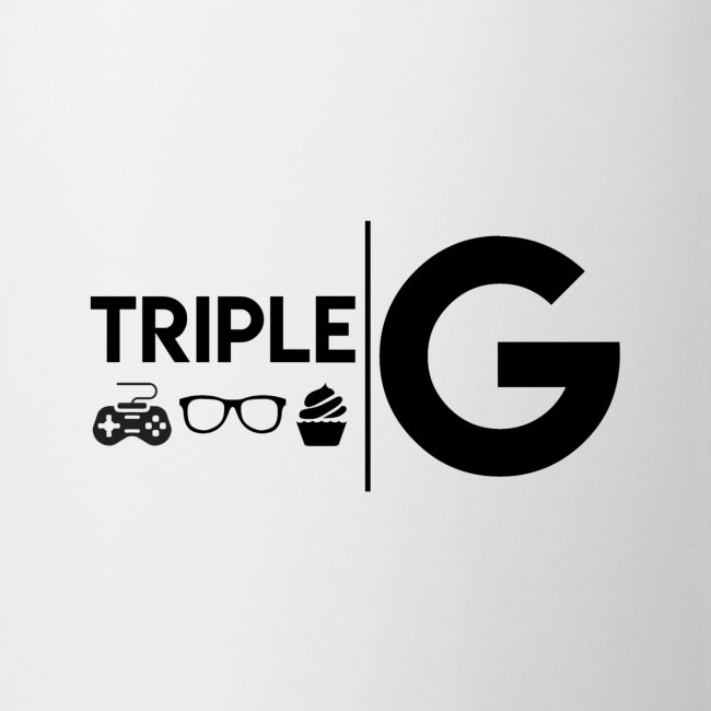 Triple G Full Logo - Black Logo