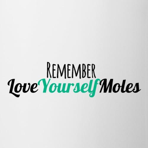 Love Yourself Moles - Black - Coffee/Tea Mug