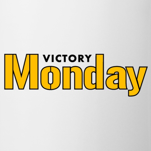 Victory Monday (White/2-sided) - Coffee/Tea Mug