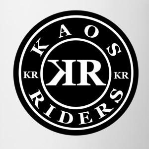 Kaos Riders Black Logo - Coffee/Tea Mug