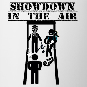 Showdown In The Air - American Fiasco - Coffee/Tea Mug
