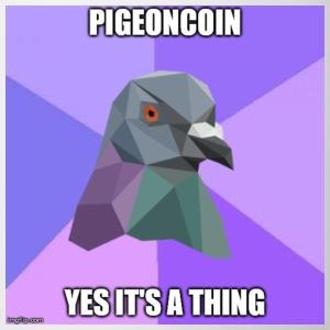 Pigeoncoin Yes It's A Thing - Coffee/Tea Mug