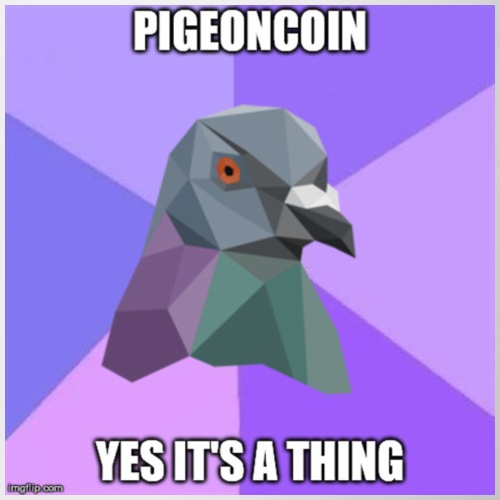 Pigeoncoin Yes It's A Thing - Coffee/Tea Mug