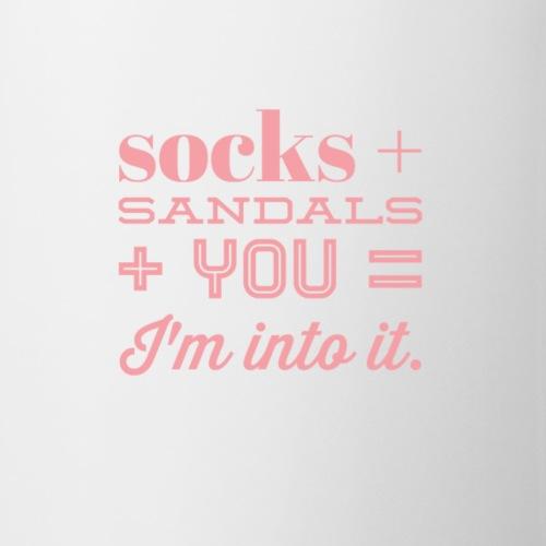 Socks, Sandals, and You - Coffee/Tea Mug